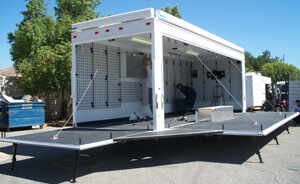 mobile business trailer catering business concession