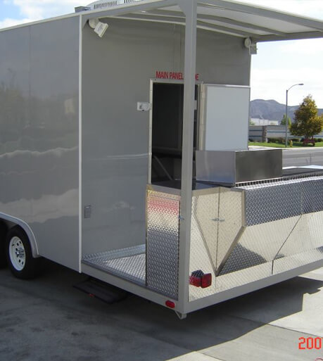 Mobile Kitchen Trailer, Concession Equipment